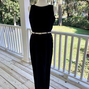 Ann Taylor Navy Jumpsuit.